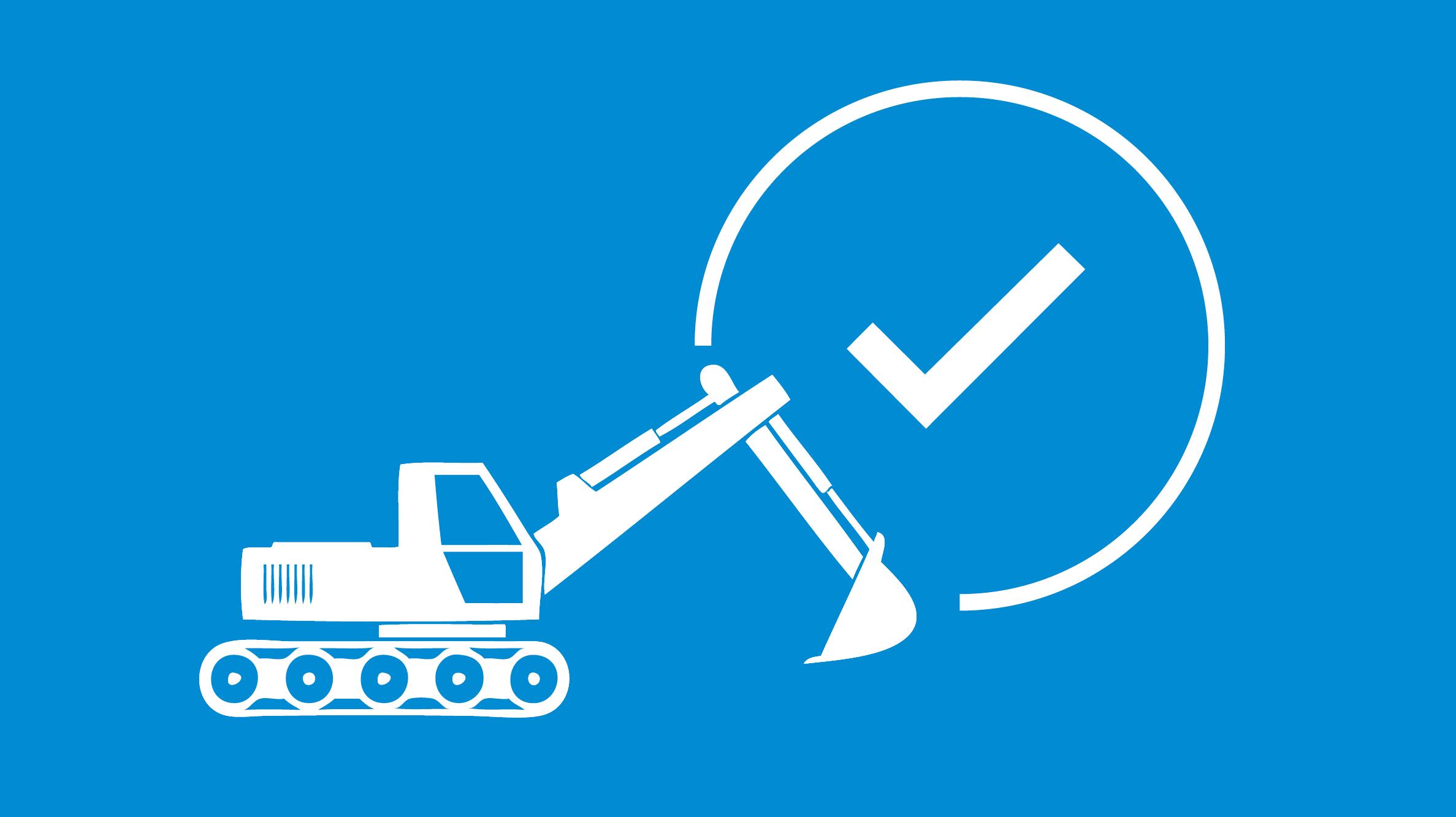 Icon Bagger und Hacken