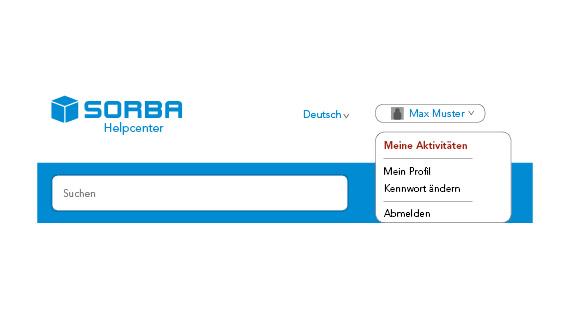 Screenshot SORBA Help Center