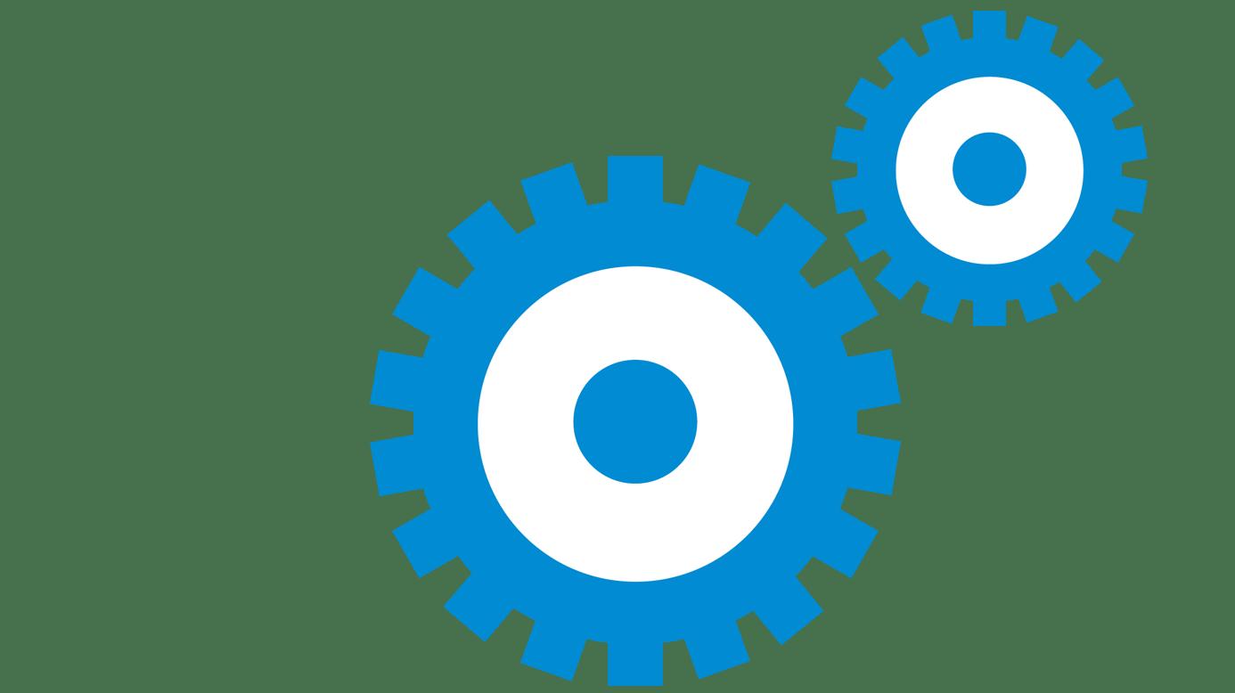 Icône roue d'engrenage